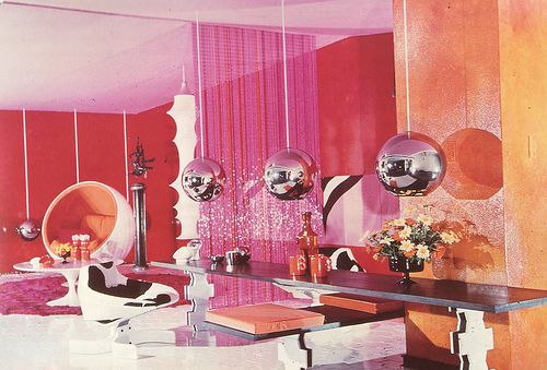 Image result for sixties interior design
