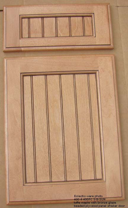 Beaded shaker style cabinet doors and drawer fronts ...
