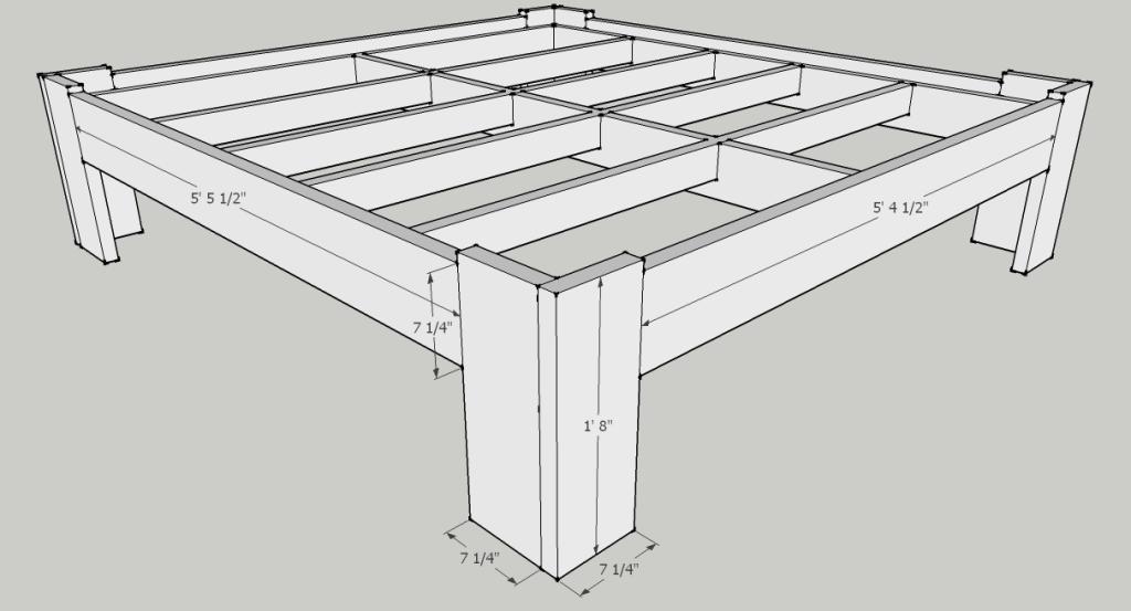 Diy Bed Frame Plans Diy Bed Frame Plans Bed Frame Plans Diy