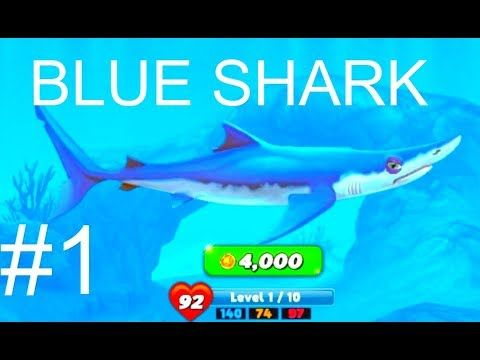 Hungry Shark World Blue Shark Android Gameplay #1 | Hungry Shark