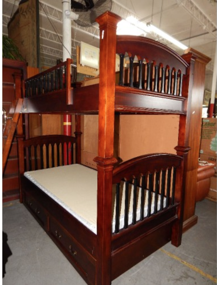 The Bunk Beds How Cool Vintage Bombay Furniture Company This Bed