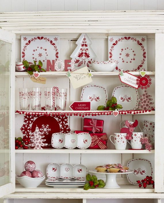 Merveilleux Decoration · Christmas Kitchen Decorating Ideas ...