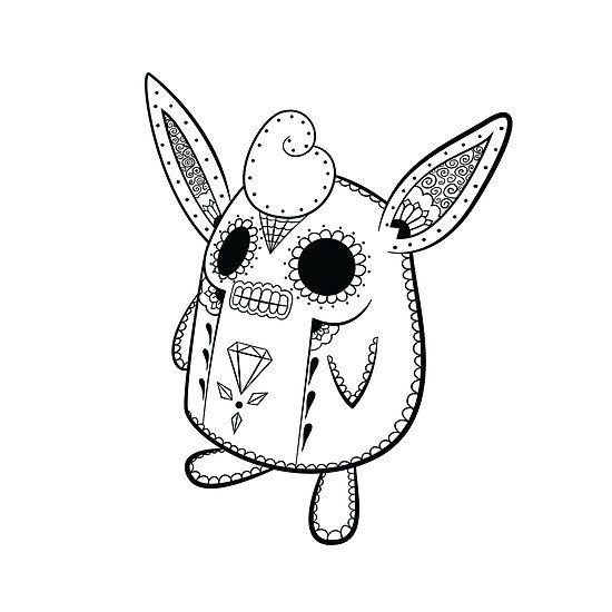 Wigglytuff De Los Muertos Pokemon Day Of The Dead Mashup
