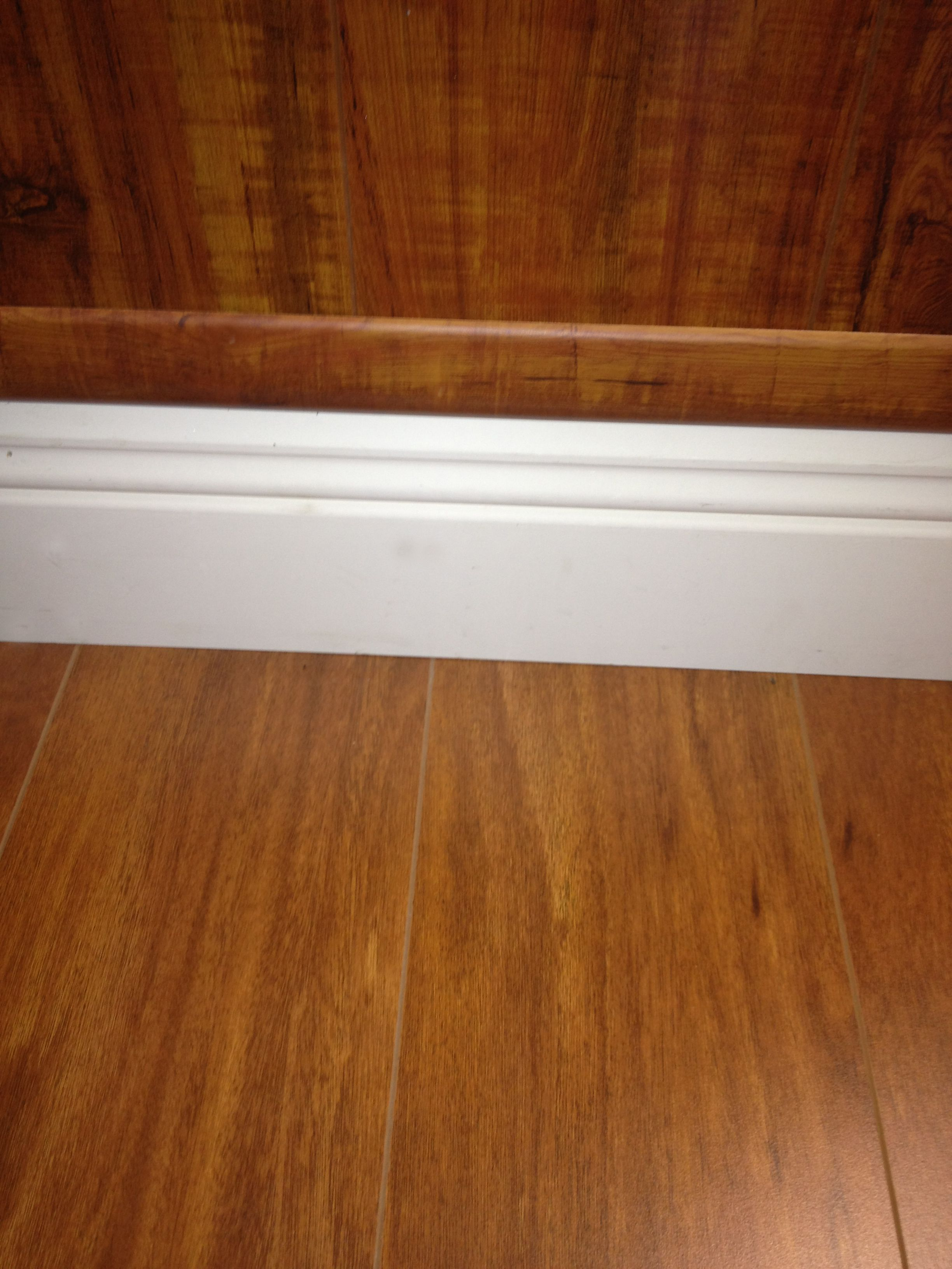 Floor Wood Baseboard : Wood floor on wall usa laminate flooring
