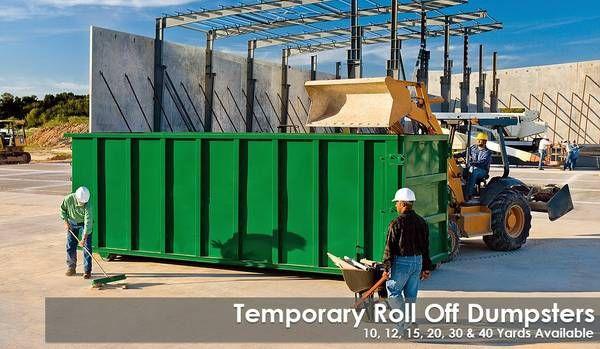 Affordable Dumpster Rentals 1 800 477 0854 Dumpster Rental Inc Provides Affordable Dumpster Rentals To Your Hom Roll Off Dumpster Dumpster Rental Dumpster