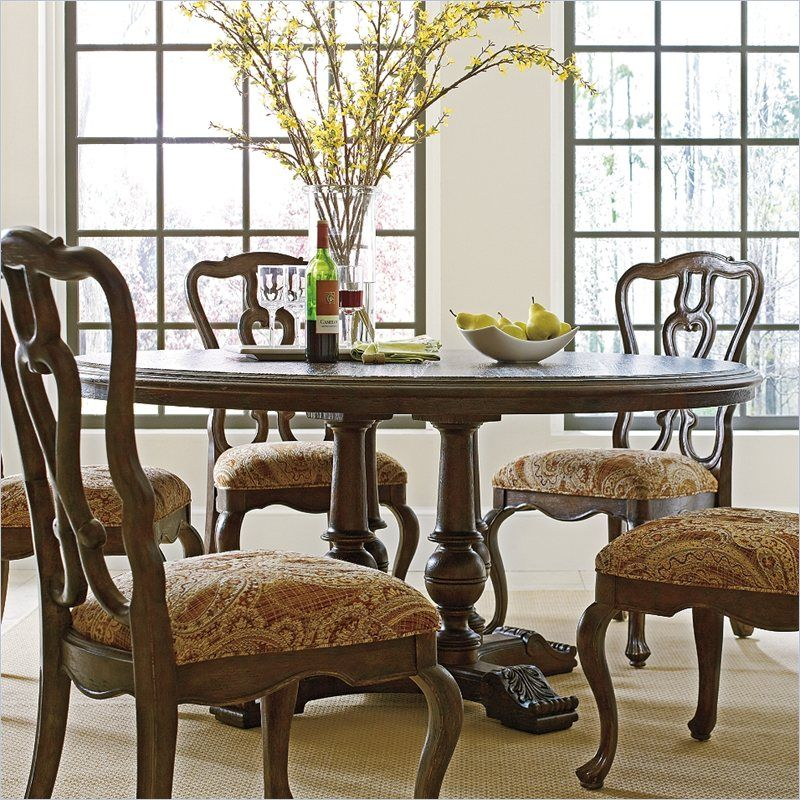 "Rustica  64"" Round Table In Sorrel  2081131  Dining Table Extraordinary Stanley Dining Room Set Design Inspiration"