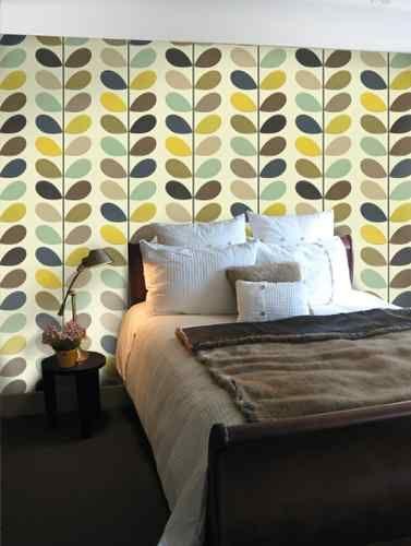 orla kiely house for harlequin multi stem wallpaper 110385