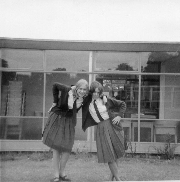 fa3c27dfe1 Early 1960s school girl uniform   MIRROR, MIRROR: LOOKS   School ...