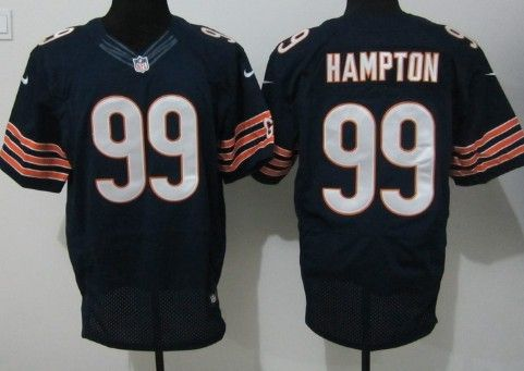 2907b6e357e spain nike chicago bears 99 dan hampton blue elite jersey aa5ae 8856a