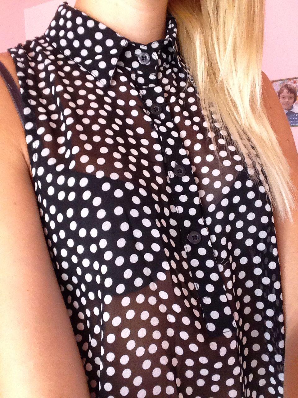 Pois blouse