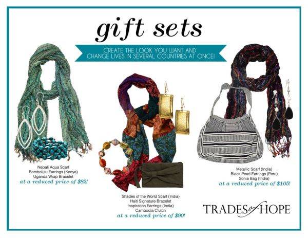 Trades of Hope creates jobs for women in marginalized areas around the world. Beautiful and fair trade!