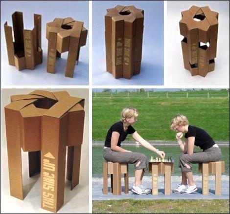 Cardboard Chair No Glue