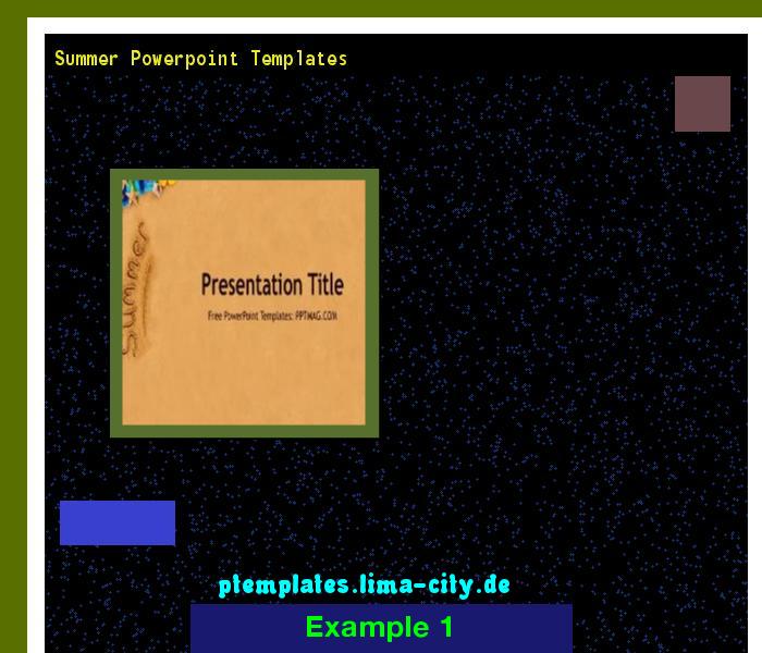 Summer Powerpoint Templates Powerpoint Templates 13457 The Best