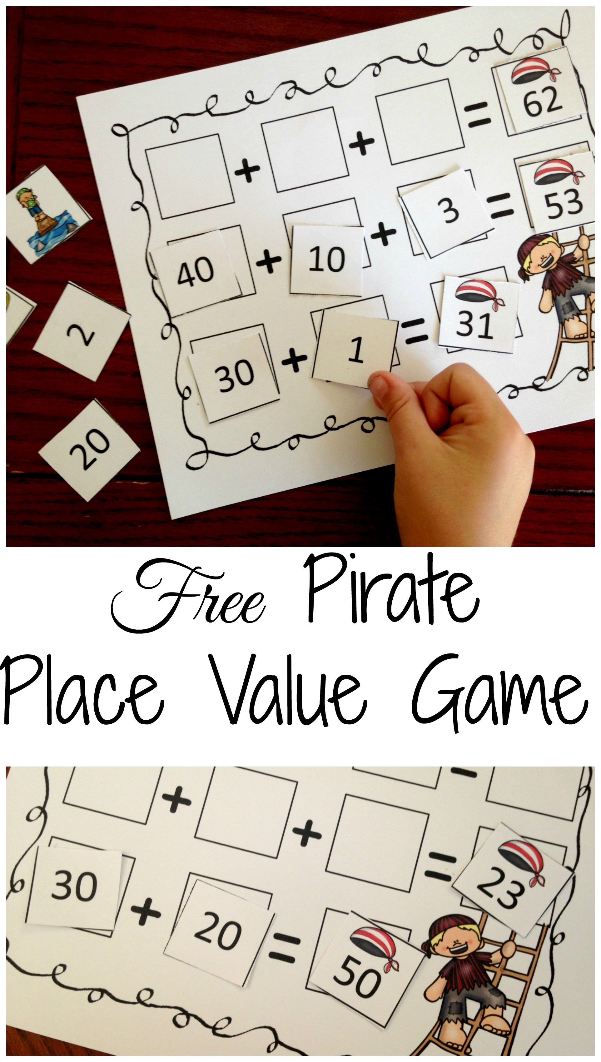 One Free Expanded Form Game To Build Number Sense