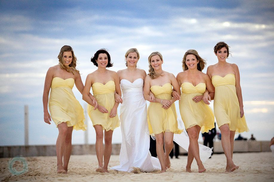 Bridesmaid Pics Knee Length Or Maxi Dresses Look Great For A Beach Wedding Using
