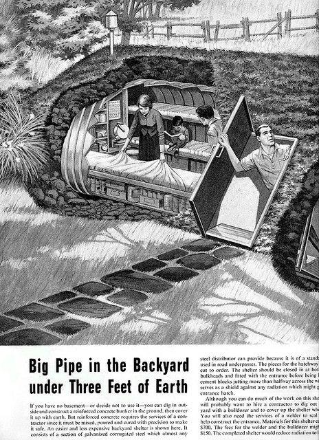 1961 Fallout Shelter 2 Survival Shelter Bomb Shelter Survival