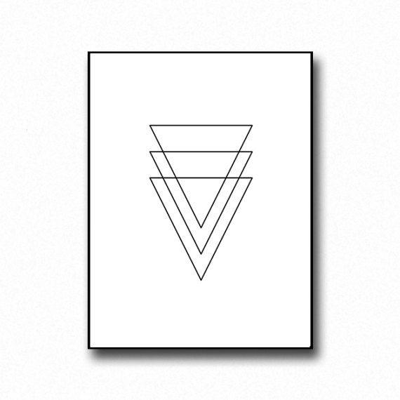 Minimalist Print Geometric Print Scandinavian Wall Art Etsy In 2020 Minimalist Prints Etsy Wall Art Scandinavian Wall Art