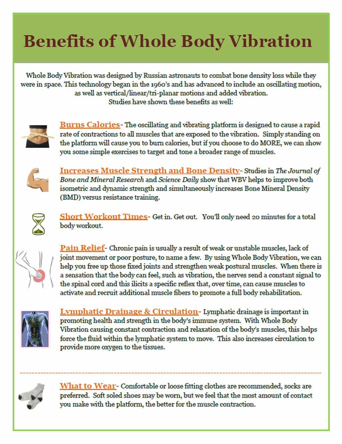 Benefits Of Whole Body Vibration Vibrawav Save 15 Today Using