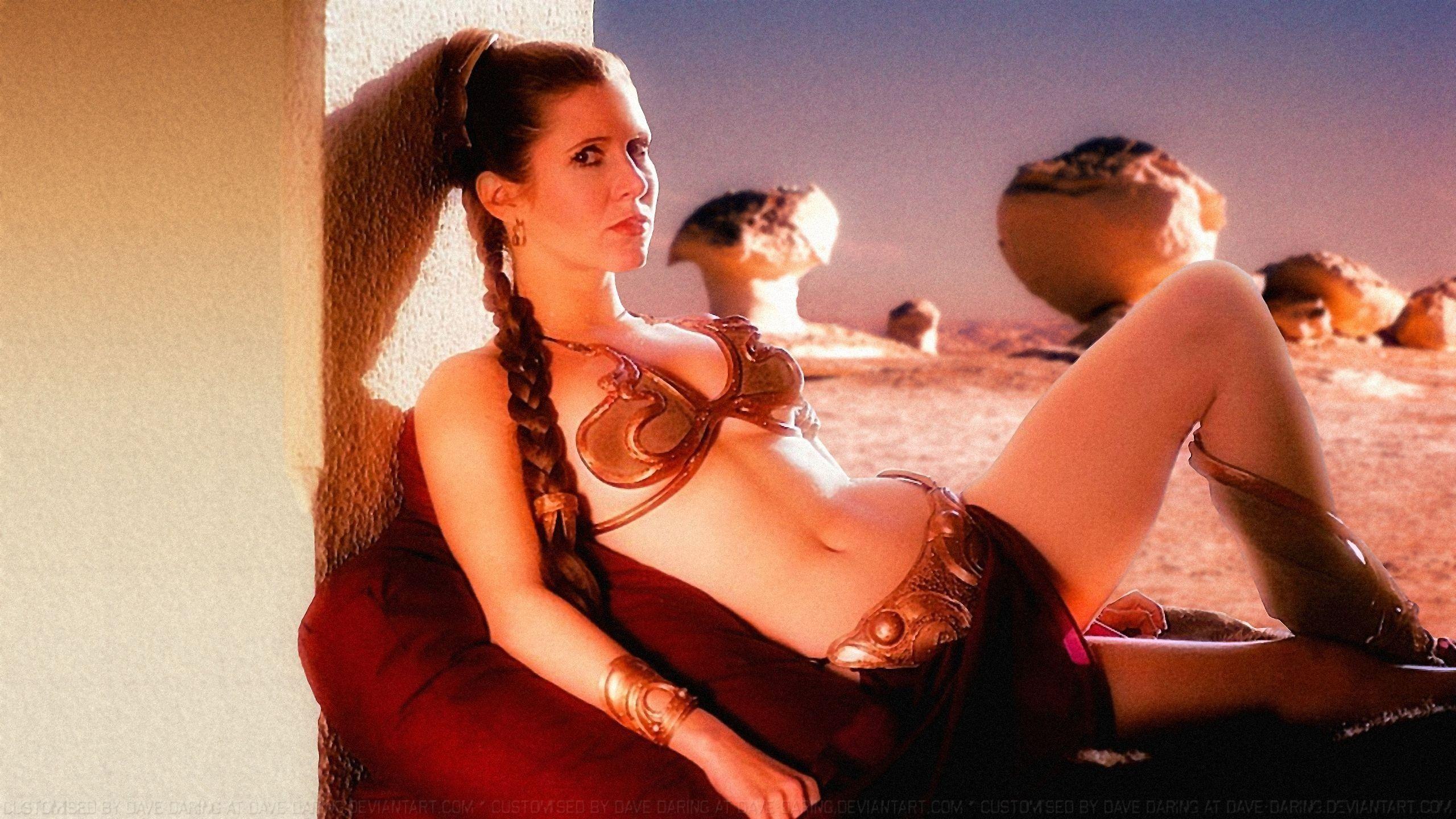 Pin On Slave Leia