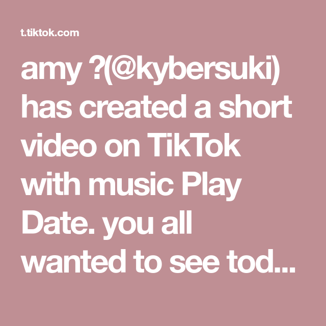 Amy Kybersuki Has Created A Short Video On Tiktok With Music Play Date You All Wanted To See Todoroki So Here He Is And For Those Of You Who Keep Asking