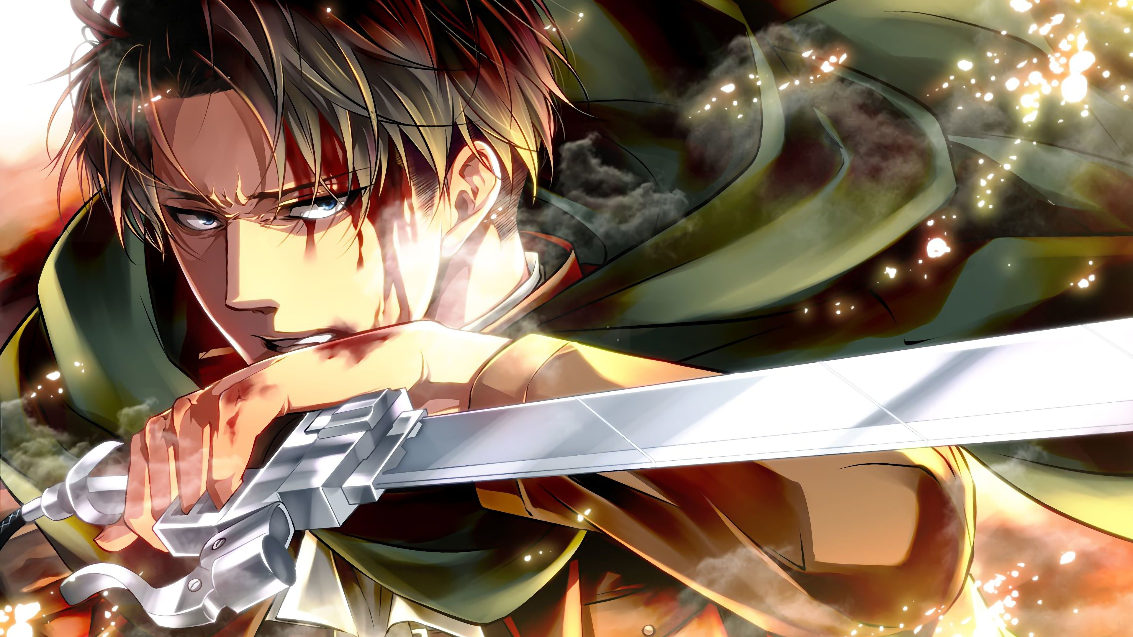 Levi Attack On Titan Shingeki No Kyojin 4k 19284 Attack On Titan Levi Attack On Titan Anime Attack On Titan Art