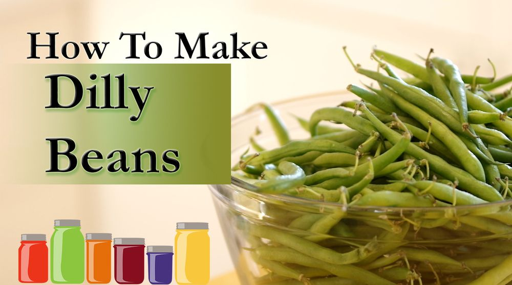 Print/Download Dilly Beans Yield About 9 canned pints