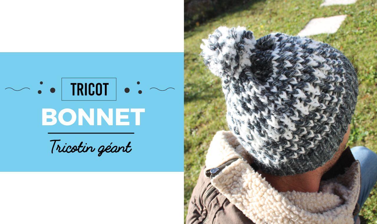 Tuto DIY - Une nouvelle vidéo pour vous montrer comment réaliser un bonnet  à motif avec f63fd603007