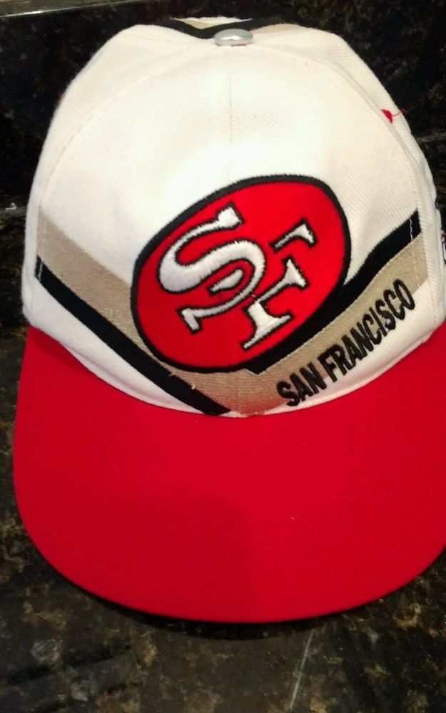 bb6e15560b623c San Francisco 49ers SF snapback Reebok Pro Line adjustable football hat cap  #Reebok #SanFrancisco49ers