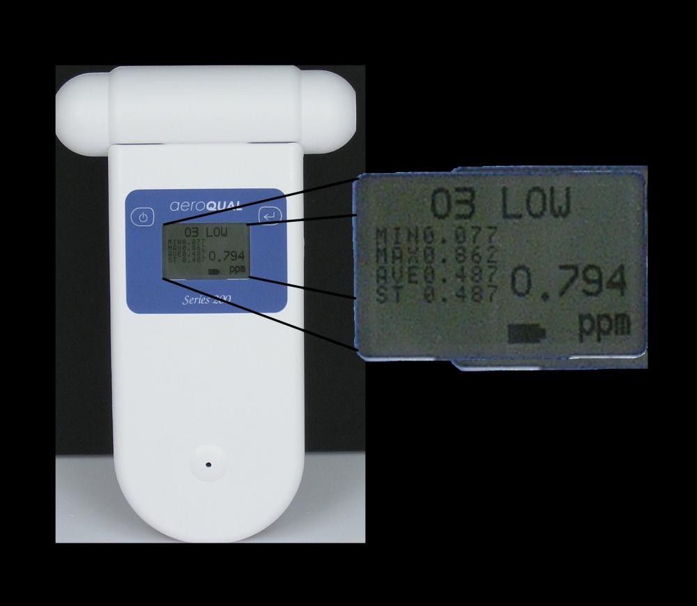 IAQS Aeroqual S200 Portable Ozone Monitor Monitor