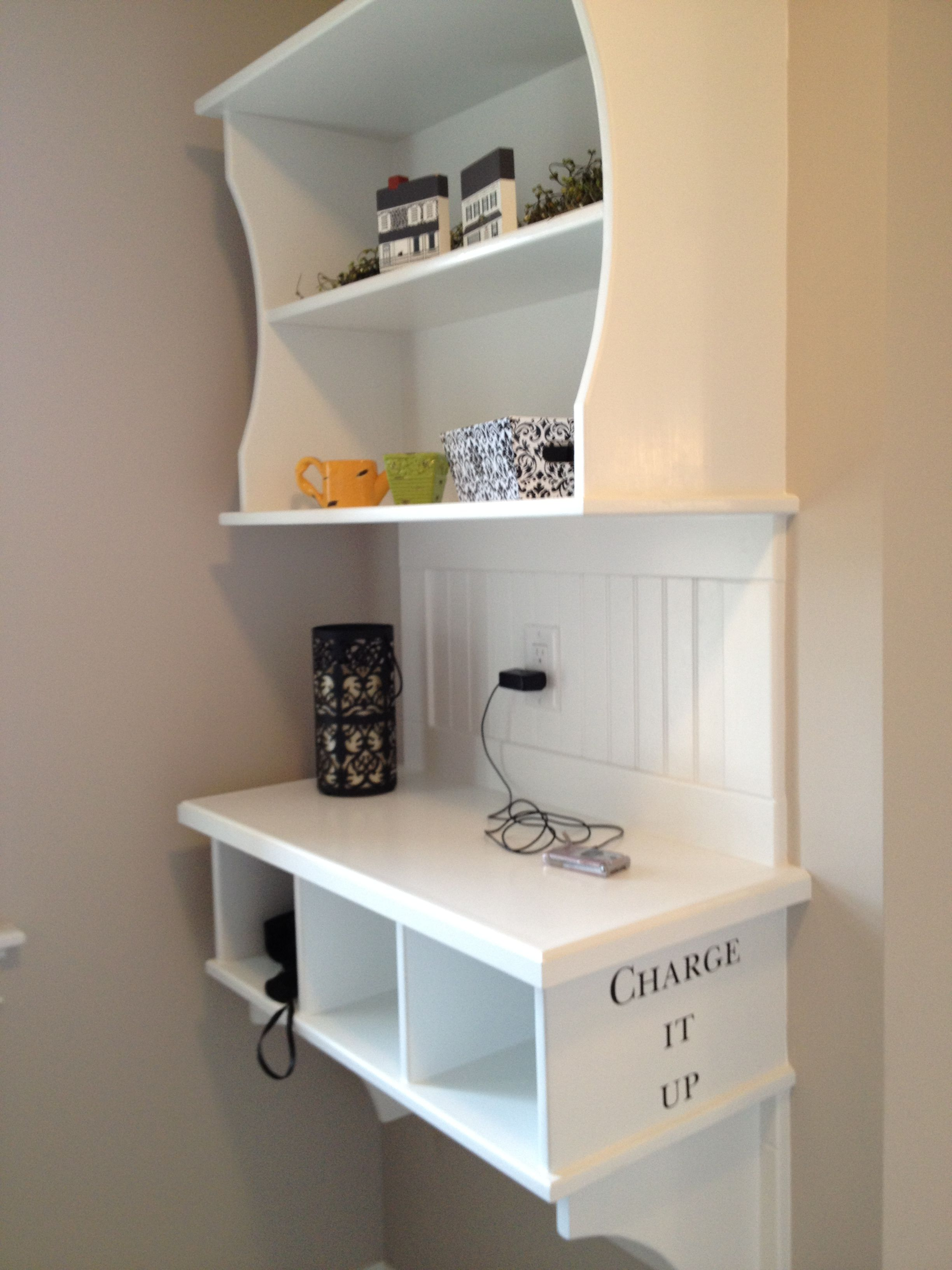 Charging Station Shelf Cute Idea Charging Station In Mudroom Jt Creating My Dream