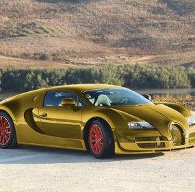 Bugatti Veyron Gold Edition (With images) | Bugatti veyron ...