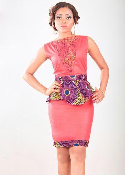 Robe Basque En Pagne African Fashion Women Trendy Ankara Styles African Fashion