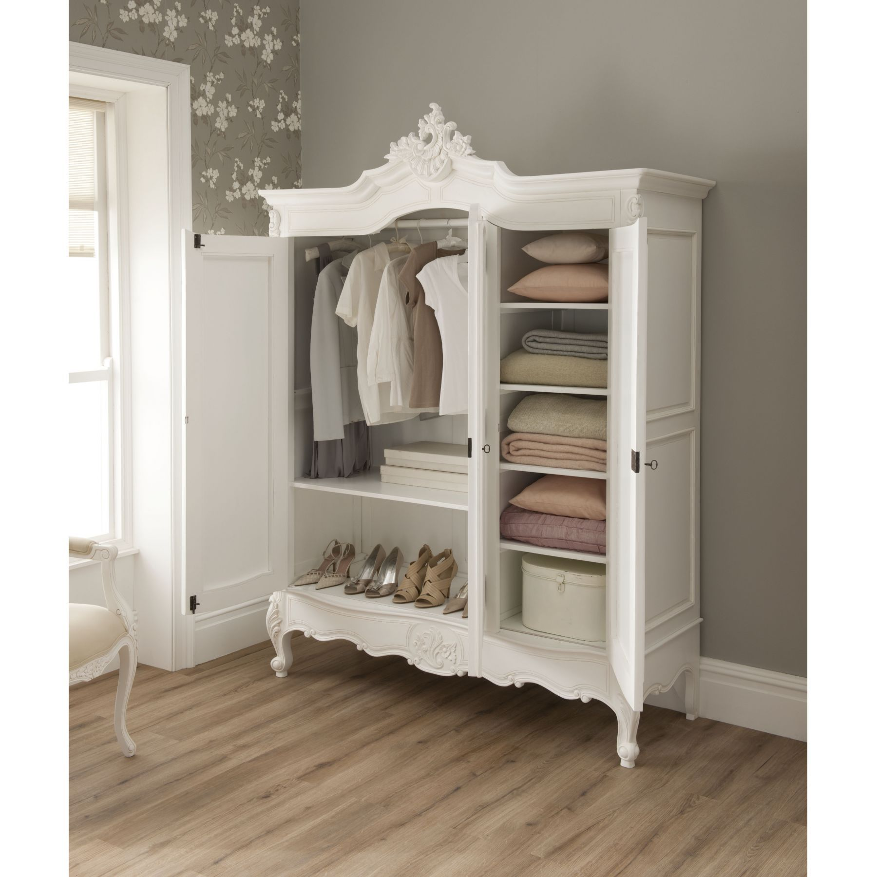A Wardrobe Is The Perfect Addition To A Babyu0027s Room To Stylishly Hold The  Tiny Clothes