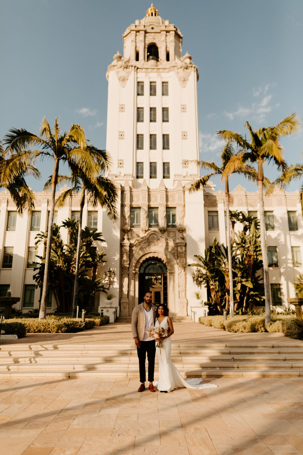 Beverly Hills Courthouse Elopement Tida Svy Wedding Los Angeles Courthouse Wedding Photos Beverly Hills