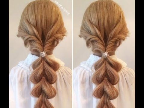 Childrens Hairstyles For School In : Simple hairstyle for girl party and