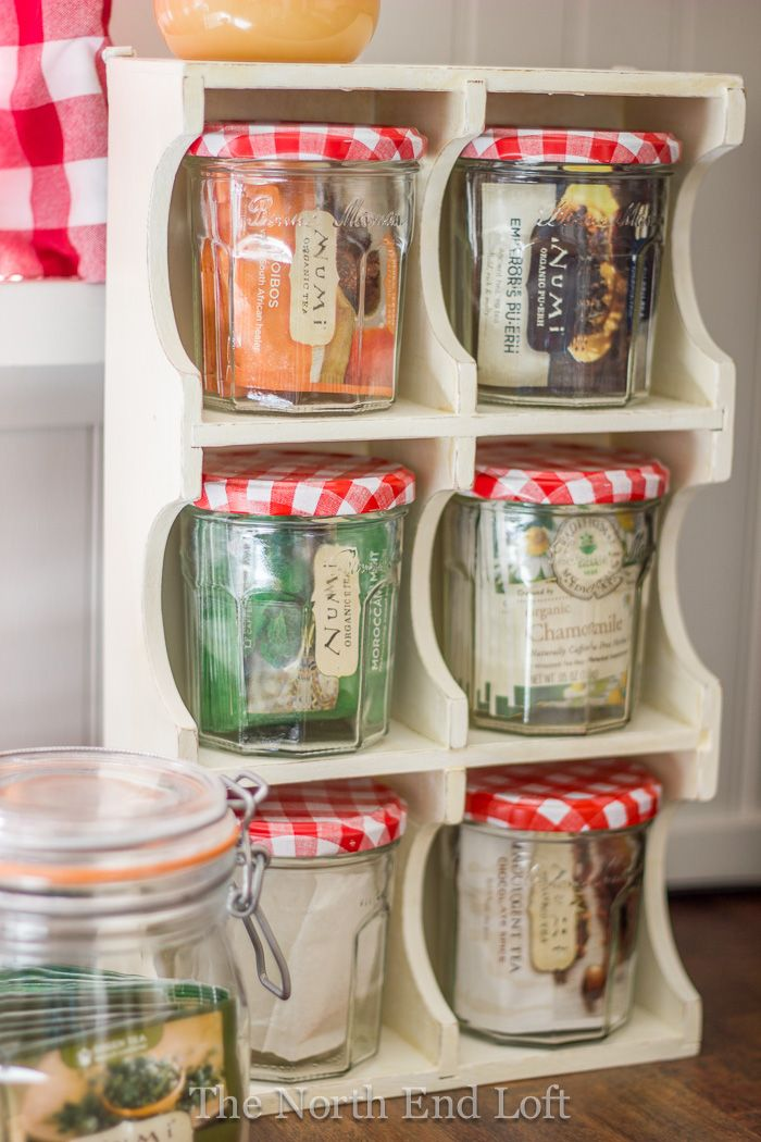 Diy Vintage Farmhouse Tea Caddy Repuposed Project