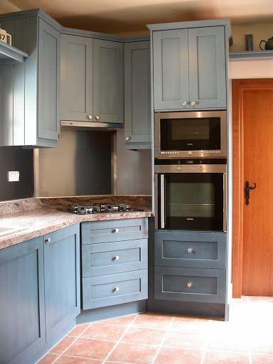 Milk Painted Kitchen Carpenter On Crete Kitchens Furniture Kitchen Kitchen Furniture Victorian Kitchen
