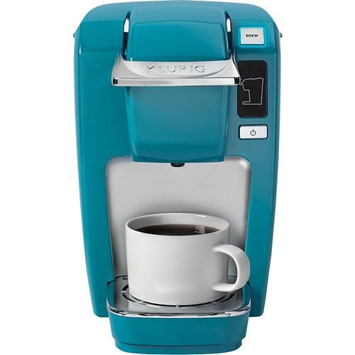 Keurig K10 Mini Plus Single Serve Brewer Aqua Blue Larger