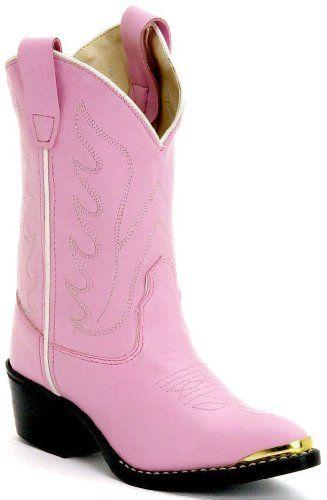 BT568 Durango Girls/' Rhinestone Western Cowgirl Boot  NEW