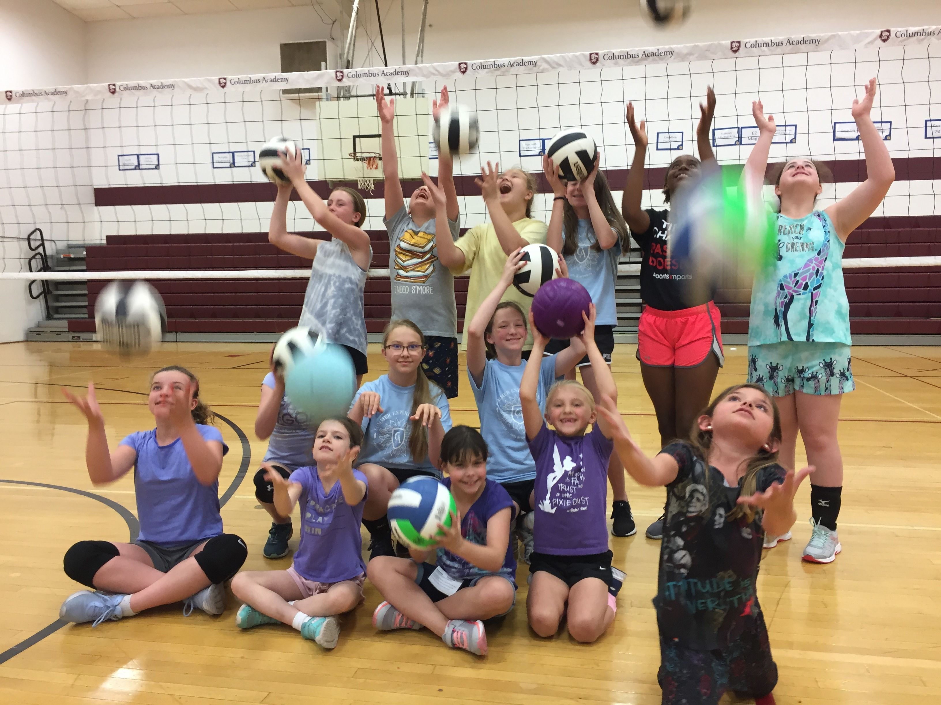 Summer Volleyball Camp Volleyball Camp Volleyball Net Volleyball