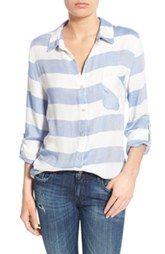 Thread & Supply 'Del Mar' Stripe Button Front Shirt