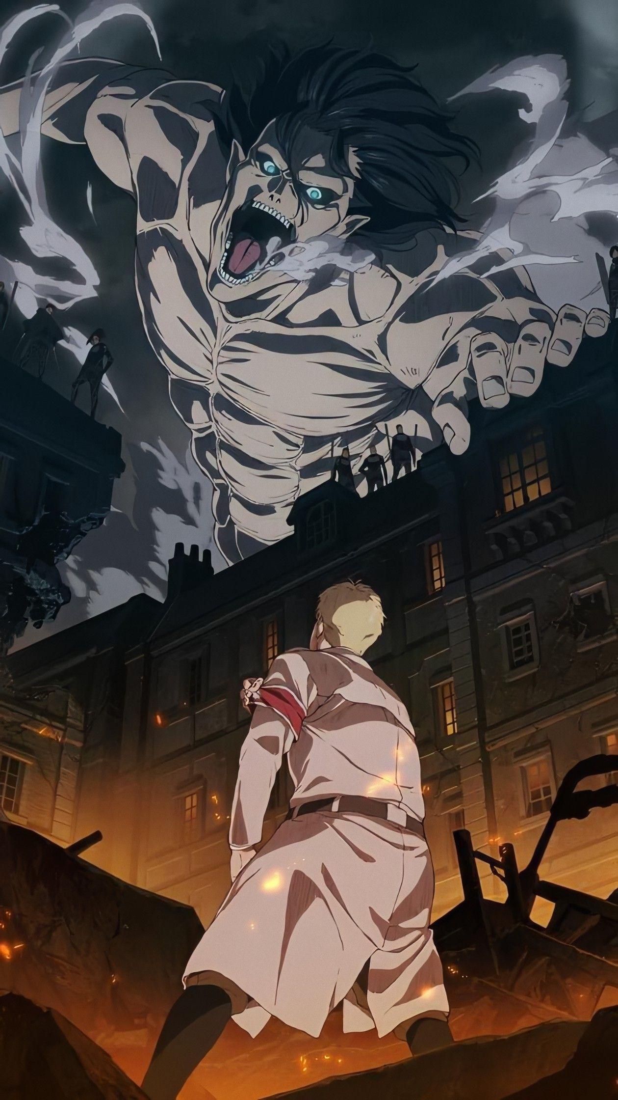 Shingeki No Kyojin Season 4 Wallpaper Anime Masculino Titanes Anime Imagenes De Anime Hd