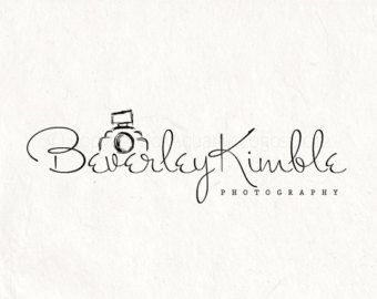 Photography logo design - photography Watermark sketched camera ...
