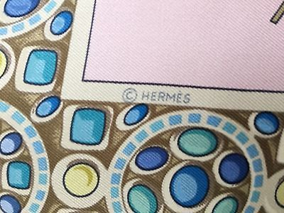 Auth Hermes Paris LE TRIOMPHE DU PALADIN Silk Scarf Foulard ABADIE 90cm