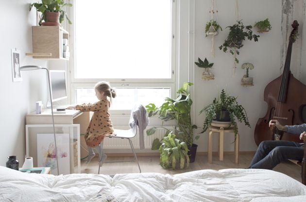 da daa Blog / bedroom / plants
