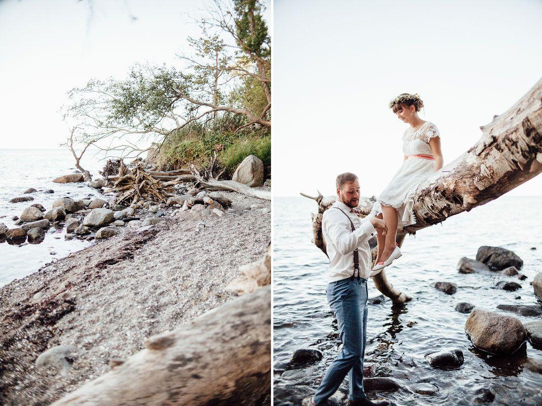 Hochzeit am strand ostsee schleswig holstein
