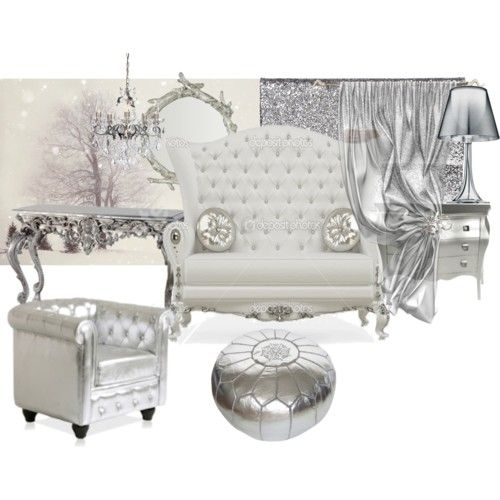Silver Mood Board Baroque Decor Modern Baroque Rococo