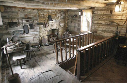 Images Of Pioneer Cabins On The Inside Old Log Cabin