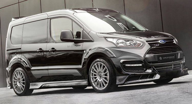Carlex Design Works Polish Magic On Ford Transit Connect Ford