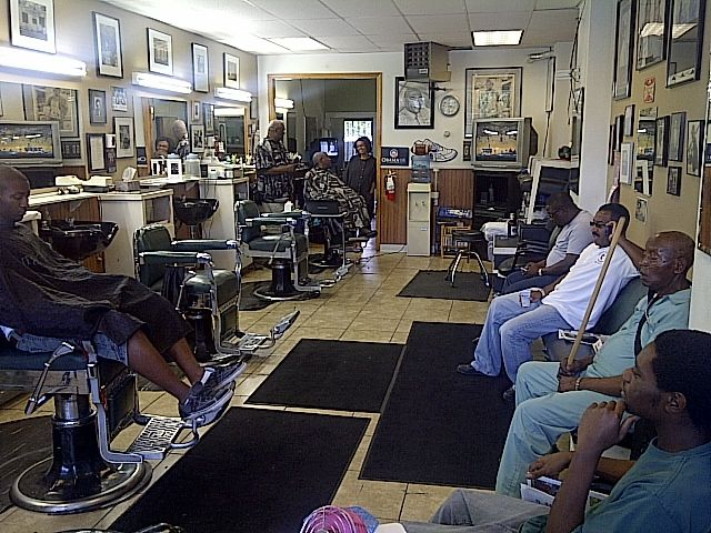 The Black Barbershop. If you want an opinion on anything...this is where you go.